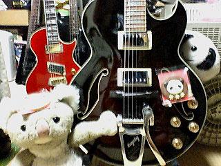 新入りギター